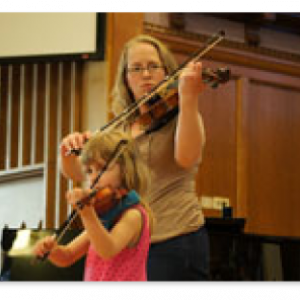 STES parents shared their joy of playing music together with their children
