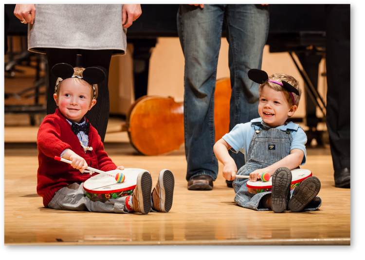 Suzuki Early Childhood Education in Concert, Calgary, Canada 2016